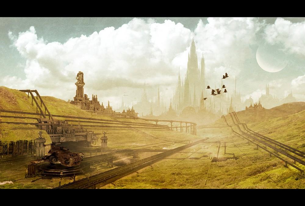 [W40K] Collection d'images : Villes et Ruches dans Wharmmer 40.000 791559CityRuche0C