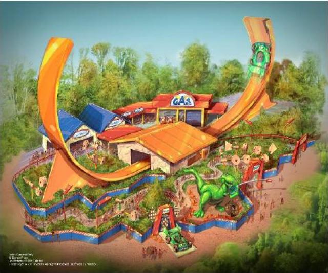 [Shanghai Disneyland] Toy Story Land (2018) - Page 3 792217w762