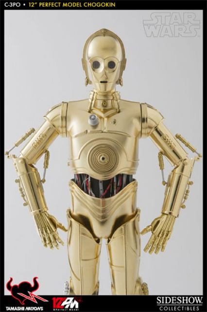STAR WARS - C3PO - Perfect Model (TAMASHII AND SIDESHOW PERFECT CHOGOKIN) 7925829521