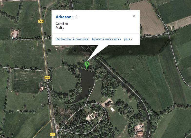 étang de cornillon - Rhone-Alpes - (42) 792679cornillon