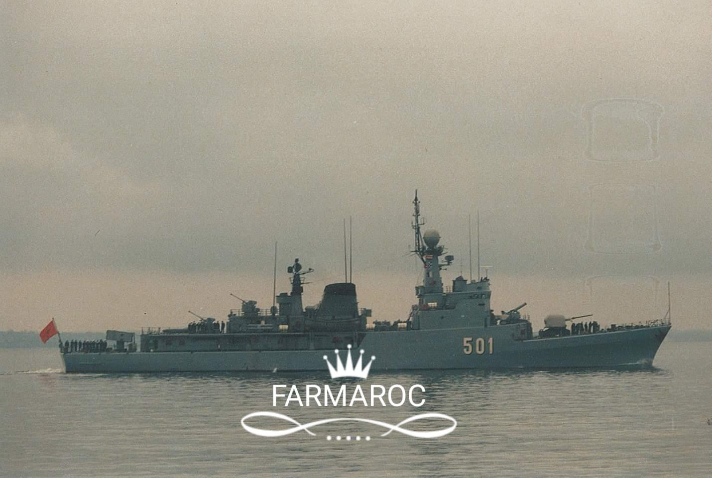 Royal Moroccan Navy Descubierta Frigate / Patrouilleur Océanique Lt Cl Errahmani - Bâtiment École - Page 3 79276320180108084311