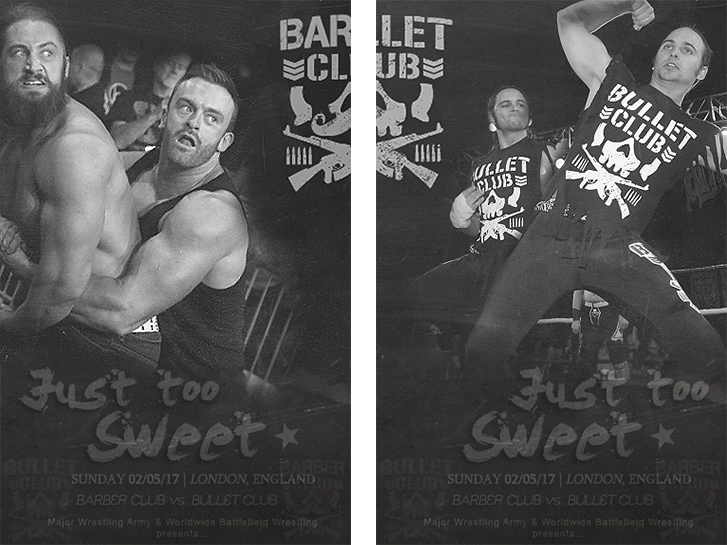 Just too sweet - Bullet Club vs Barber Club (MWA/WBW) 793550Affiche2