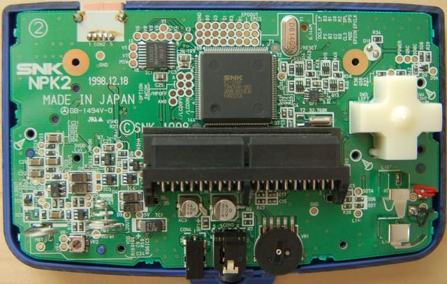 NeoGeo Pocket sur une télévision 793588NGPCPCB