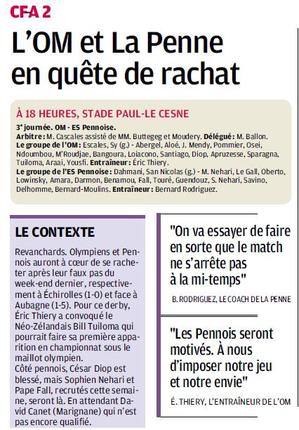MATCHS DE LA RESERVE OLYMPIENNE - Page 3 793934273