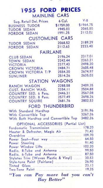 ford thunderbird 1955 au 1/16 de chez amt  7940081955FordThunderbirdFolder07