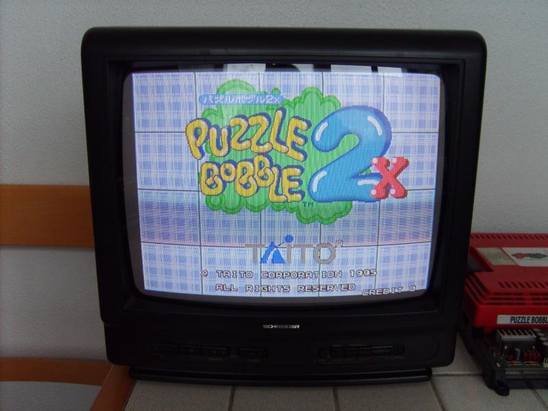 [VDS] Taito F3 Package System Jap avec 2 jeux, Puzzle Bobble 794306S5006366