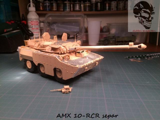 AMX 10 RCR SEPAR maquette Tiger Model 1/35 794548IMG3795