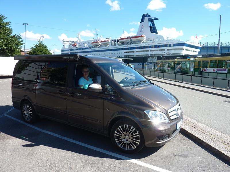 GRAND TOUR DE LA SCANDINAVIE EN 60 JOURS ET 12000 KMS FINLANDE 794651P1130344