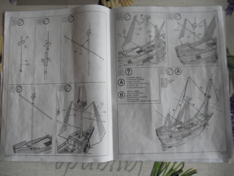 Pilgrim Ship MAYFLOWER Kit Revell au 1:83° 795766DSCN9548