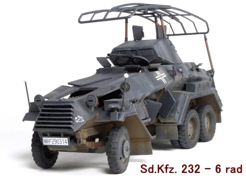 Sd.Kfz. 232 6 Rad - France 1940 - Italeri 1/35 796460P1040093