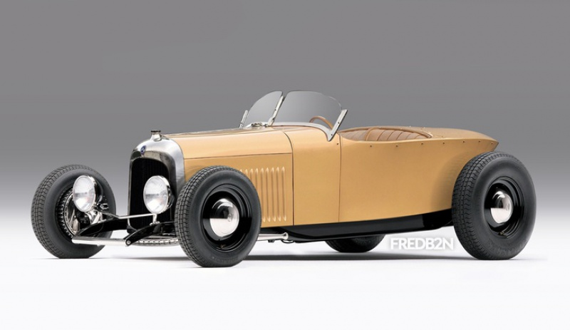 Citroën 5HP Torpédo 1923 - 1926 au 1/10ème de France-jouet       sur ponts-trans HSP Kulak 1/18ème    7982235HPHOTRODS1da849776658b824e09ef6bb22bb5f14