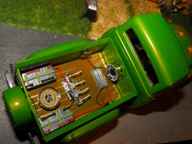 Ford F100 '55 lowrider greenfire (Terminé) 79858012d