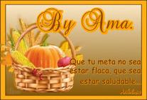 Canasta Saludable con Frase 79934145zz