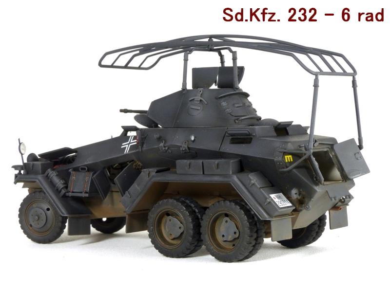Sd.Kfz. 232 6 Rad - France 1940 - Italeri 1/35 799353P1040005