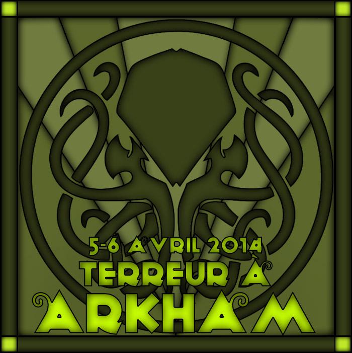 Terreur à Arkham, Coryphée [5-6 avril 2014] 800450Affiche