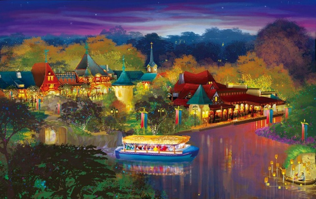 [Shanghai Disneyland] FANTASYLAND (Crystal Grotto/Peter Pan/Alice...Maze/7 Dwarfs/Winnie/Frozen)  802068w32