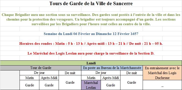 [RP] Plannings des Tours de Gardes de la Ville de Sancerre 8029771Planning