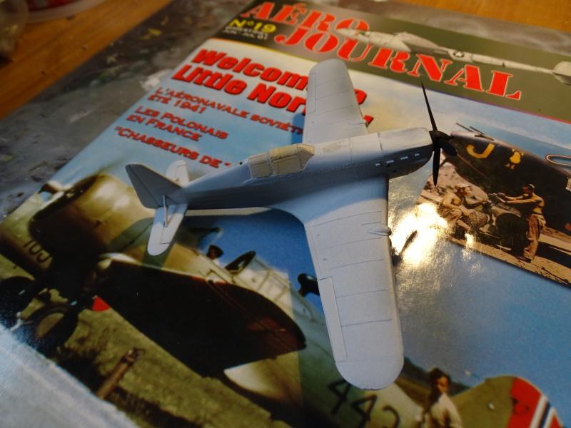 Morane Saulnier MS 406 GC I/2 Damblain Sgt Antoni Beda Avril 1940 803069DSC01313