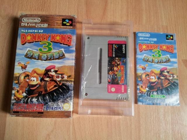 Prupru's Collection ! 100% Super Nintendo et 200% Super Comboy !! 803609SuperDonkeyKong3