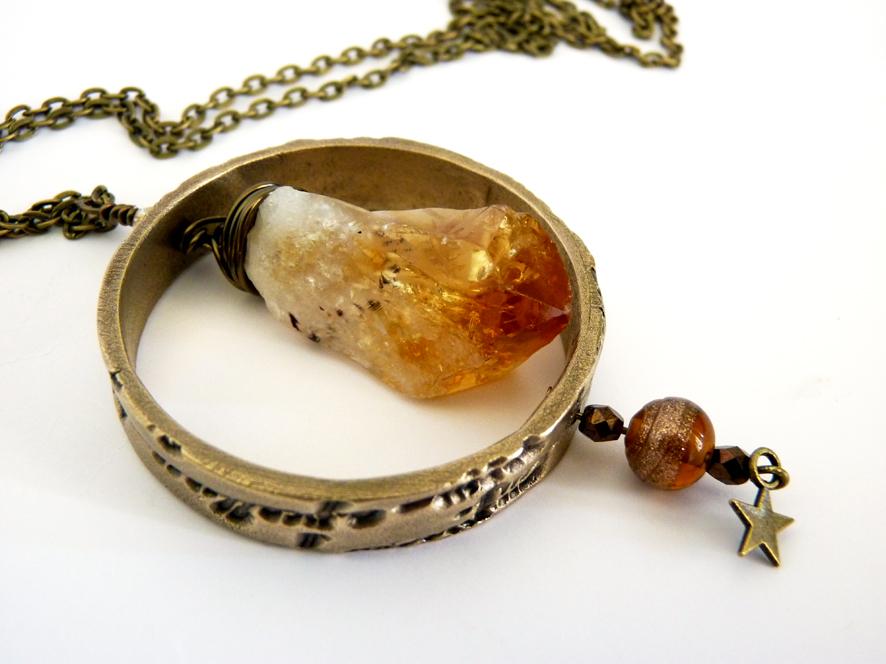 anneaux en bronze et pierres 803849citrine3