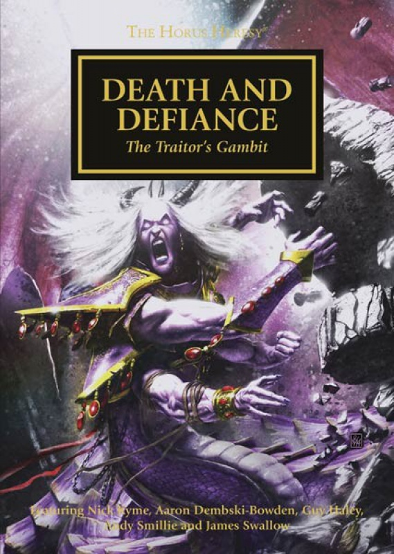 [Horus Heresy] Death and Defiance - Anthologie 804217DeathandDefianceCMYK