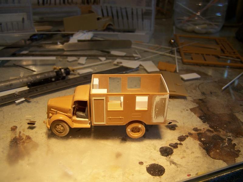 Opel Blitz Ambulance Normandie été 1944 8048331005845