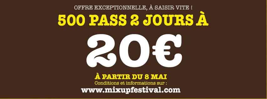 Mix Up Festival - 02 et 03 juin - Creil 805167CouvertureFBVENTEFLASH
