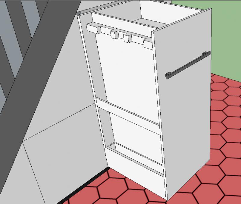 rangement sous escalier. Black Bedroom Furniture Sets. Home Design Ideas