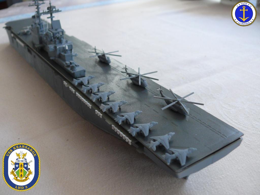 USS KEARSARGE LHD-3 1/700 REVELL 806856Kearsarge22