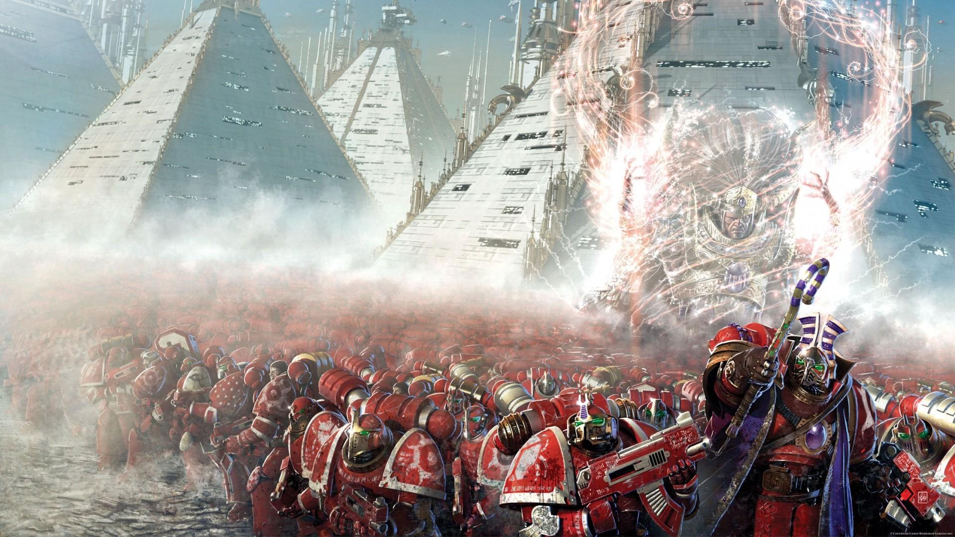 Wallpapers Hérésie d'Horus/Horus Heresy (mise en page/plus complet) 807266AThousandSonsbyNeilRoberts