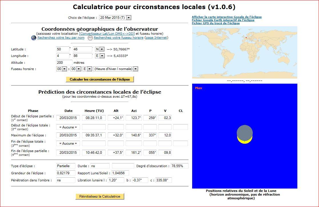 éclipse partielle du soleil le 20 mars 2015 (Belgique) 808200Capture