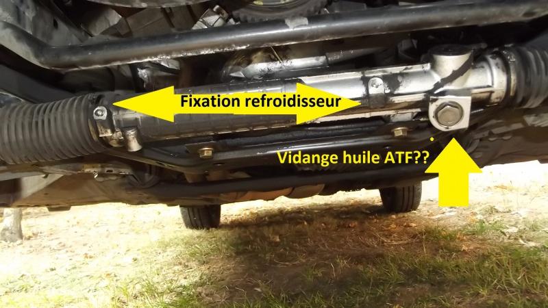 [BMW 316 i E36] Vidange de l'huile de direction assistée 808456Crmaillresanssonsystmederefroidissement