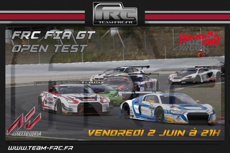 AC - FRC FIA GT - Open Test - 02/06 808647OpenGT3Mugello