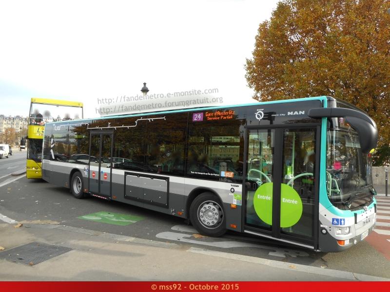 [RATP] MAN Lion's City : Hybride et GNC 809363DSCN0975