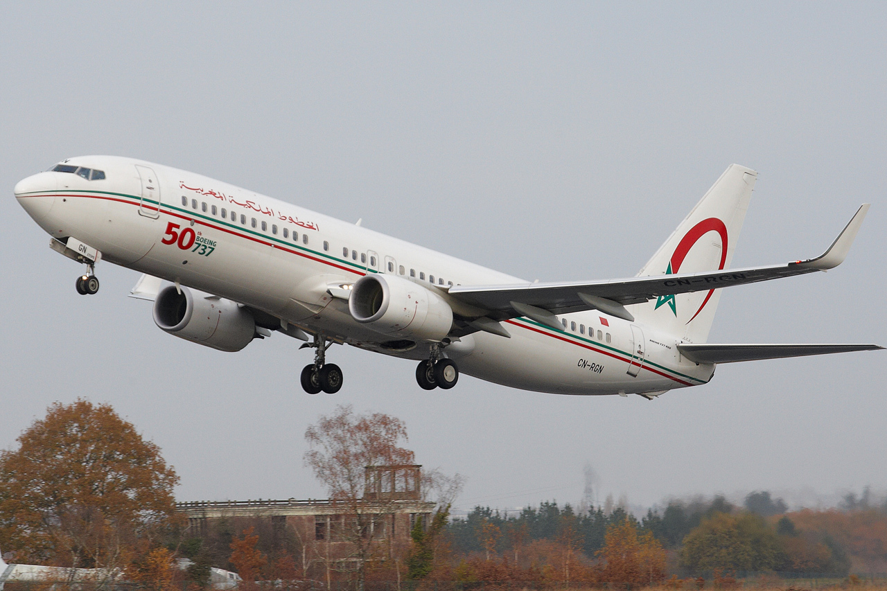 [ 18/05/2013 ] B737-8B6 Royal Air Maroc (CN-RGN) 50 th boeing 737 809712GRX9136