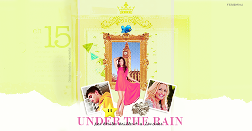 Under the rain 810026fiche