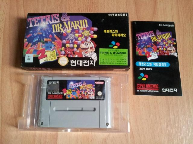 Prupru's Collection ! 100% Super Nintendo et 200% Super Comboy !! 810358TetrisDrMario