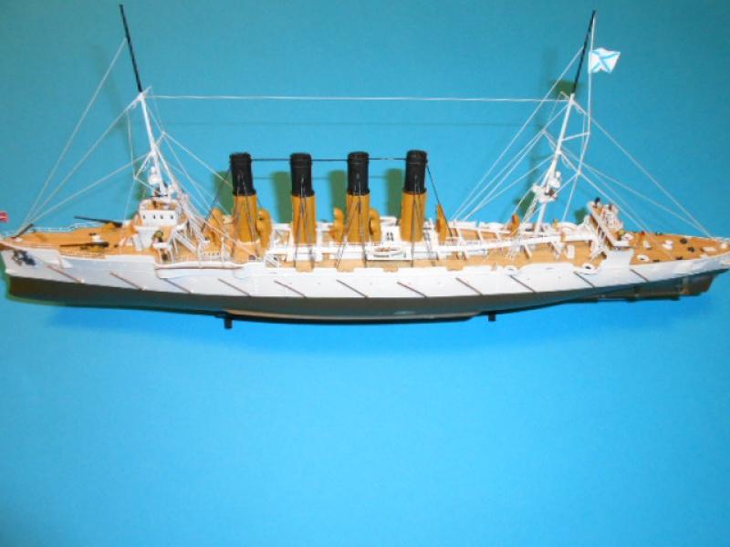 "Croiseur  Russe ""VARYAG"" Zvezda 1/350 pont en bois / PE  - Page 2 810494haub016"