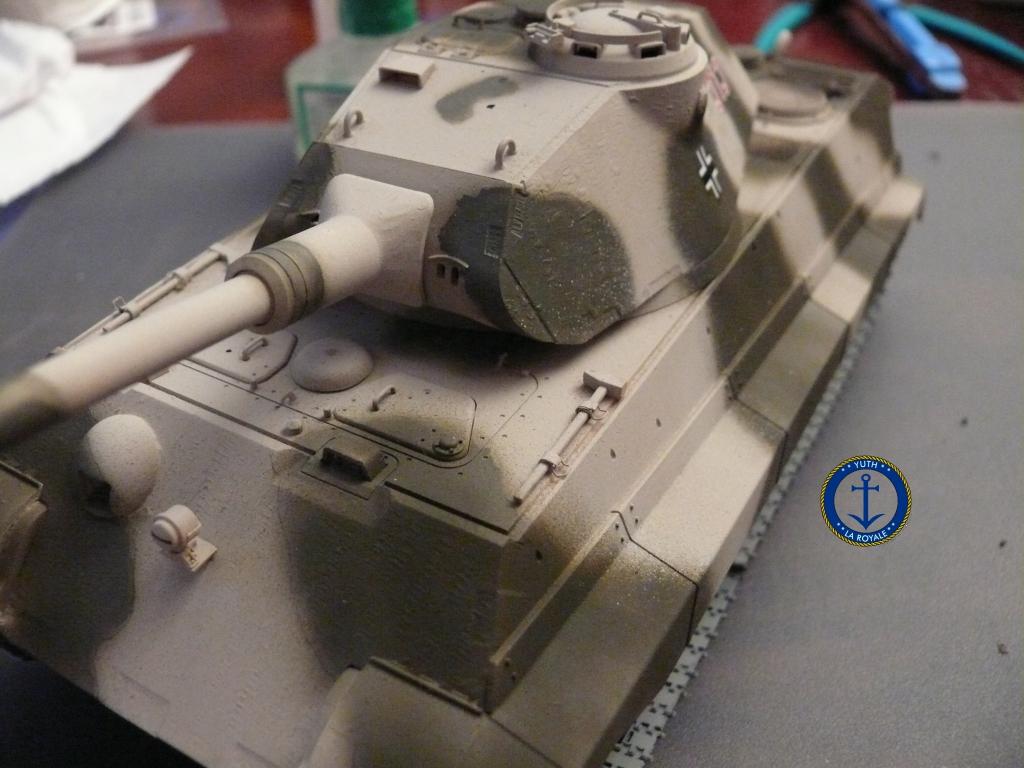 Sd.Kfz. 182 Panzer VI ausf B Tiger II Porsche Turret 812072konigstiger11