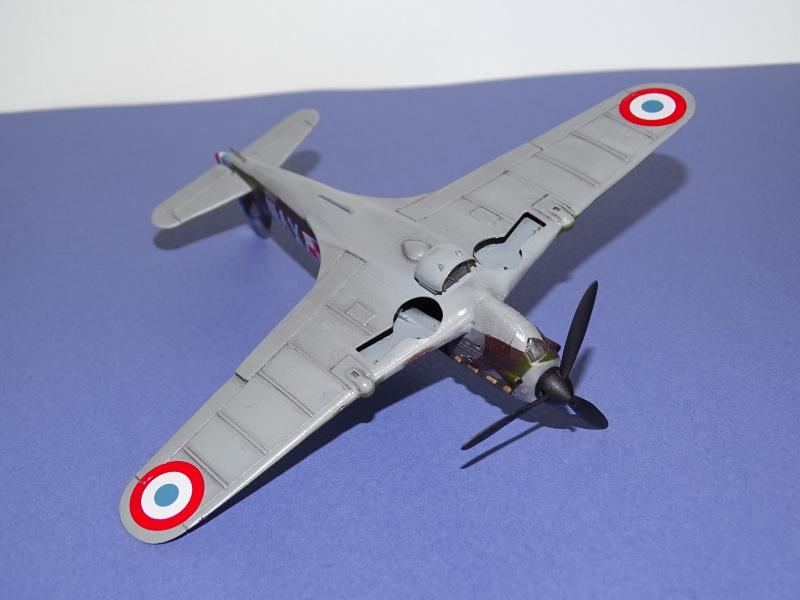 Morane Saulnier MS 406 GC I/2 Damblain Sgt Antoni Beda Avril 1940 812307DSC01744