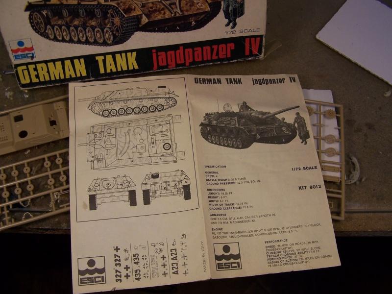 ( Esci 1/72) Jagdpanzer 4 L/70  (Terminé) 8132491005398