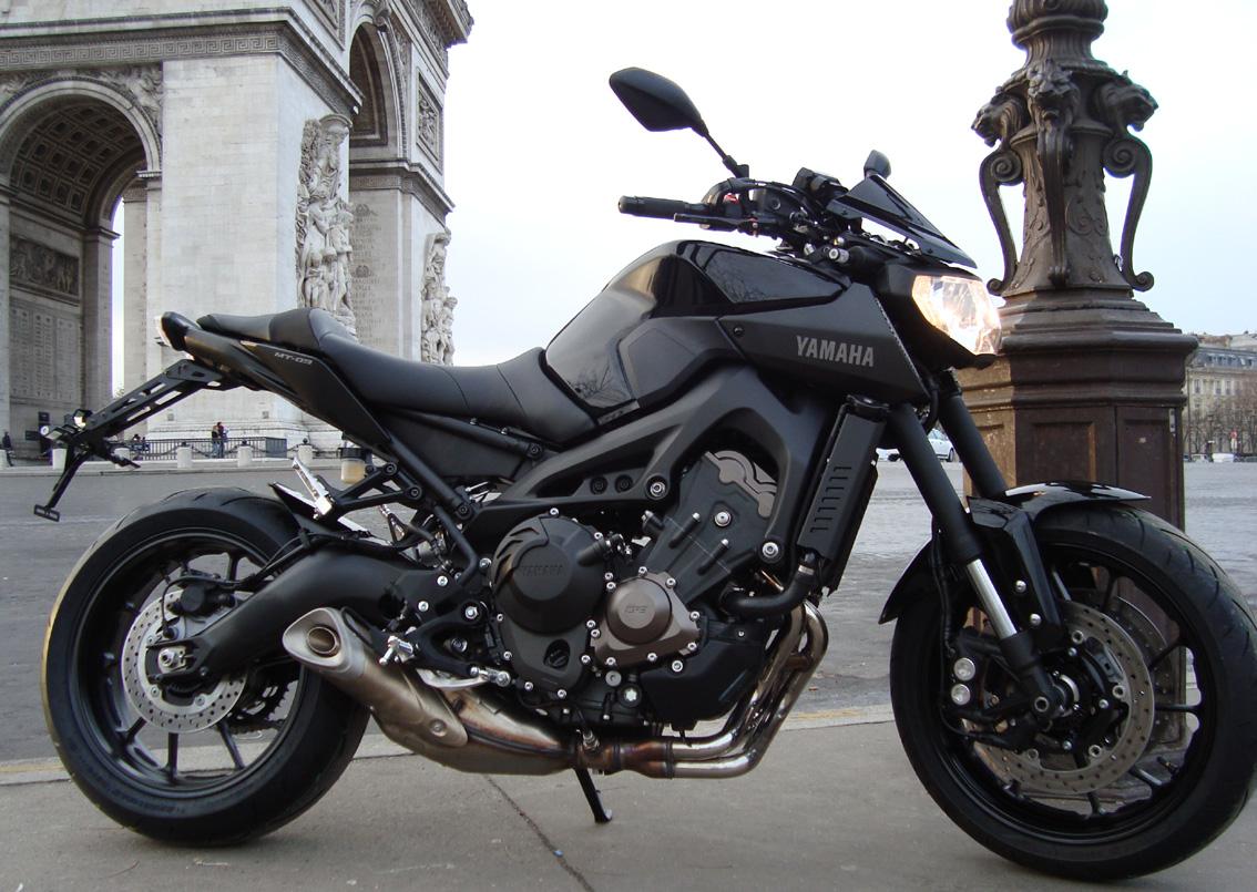 Photos de toutes les Yamaha MT-09 du forum ! :) 813338YRico
