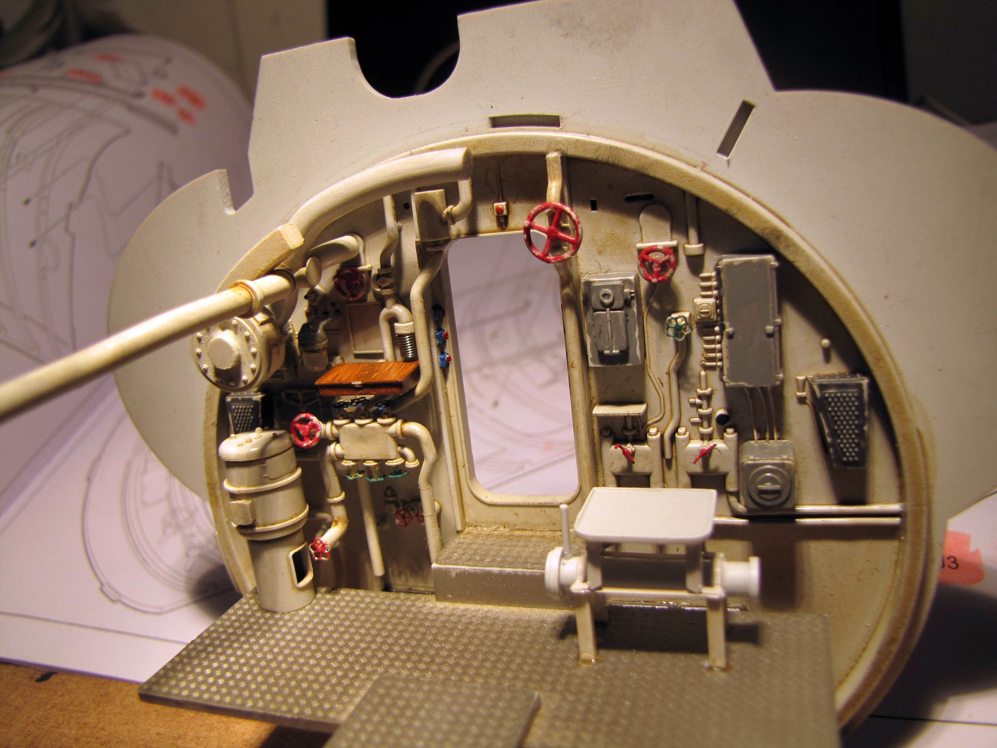 U-552 TRUMPETER Echelle 1/48 - Page 4 813965zzb