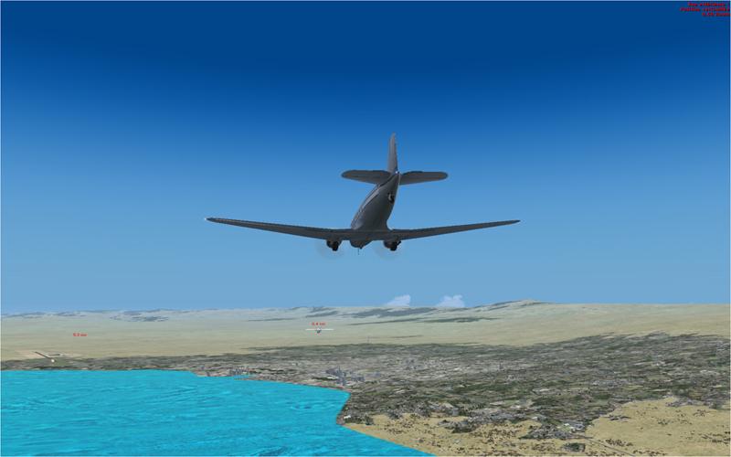 Vol en formation en Afrique (DC3) 816236201322223317735