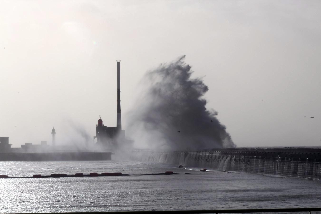 Tempête ELEANOR au Havre  03 01 2018 817278079Copier