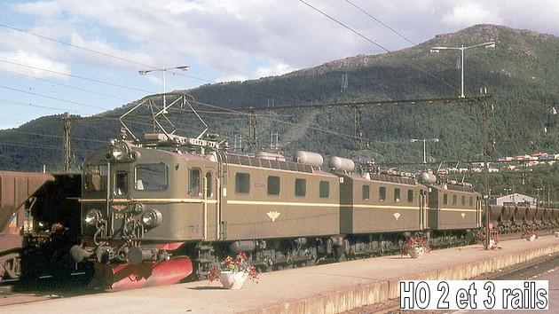 Les machines D/Da/Dm/Dm3 (base 1C1) des chemins de fer suèdois (SJ) 818123ElectriclocomotiveNSBclassEl12atNarvik1970R