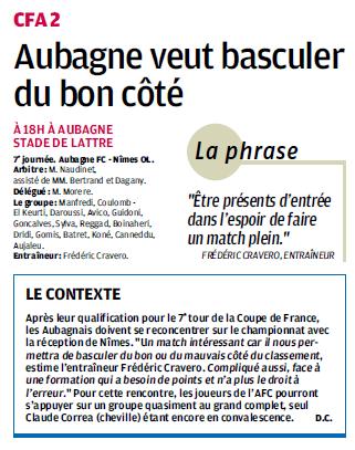 FC AUBAGNE // CFA2 GROUPE SUD EST  G - Page 3 818776973a