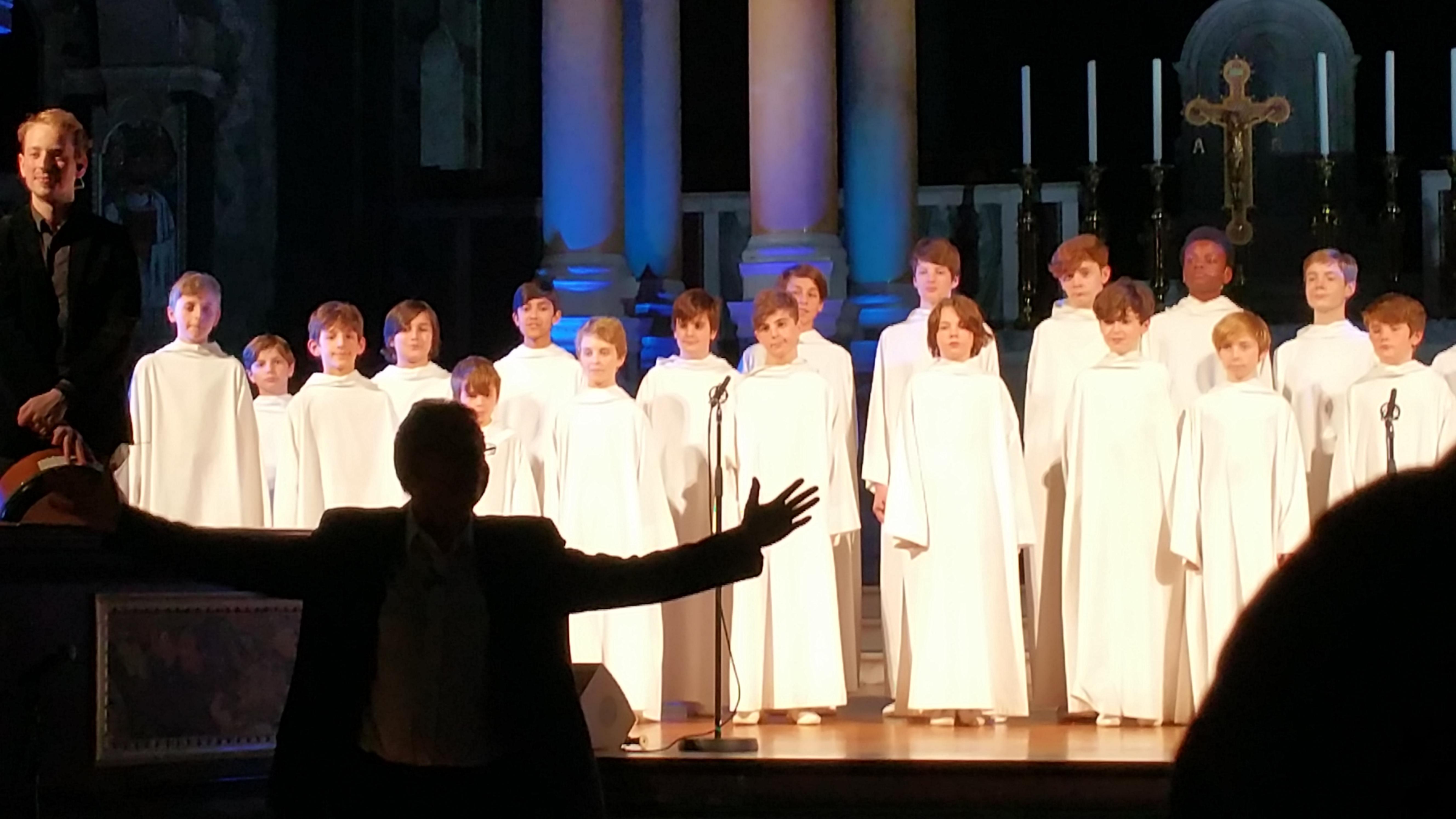 Concert à la cathédrale de Westminster (initialement St George's) le 1er décembre 2017 - Page 3 81916620171201221105