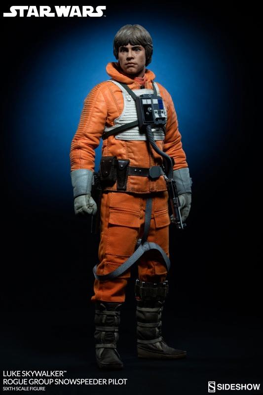 STAR WARS - LUKE SKYWALKER SNOWSPEEDER PILOT 819313starwarslukeskywalkerroguegroupsnowspeederpilotsixthscale10011705