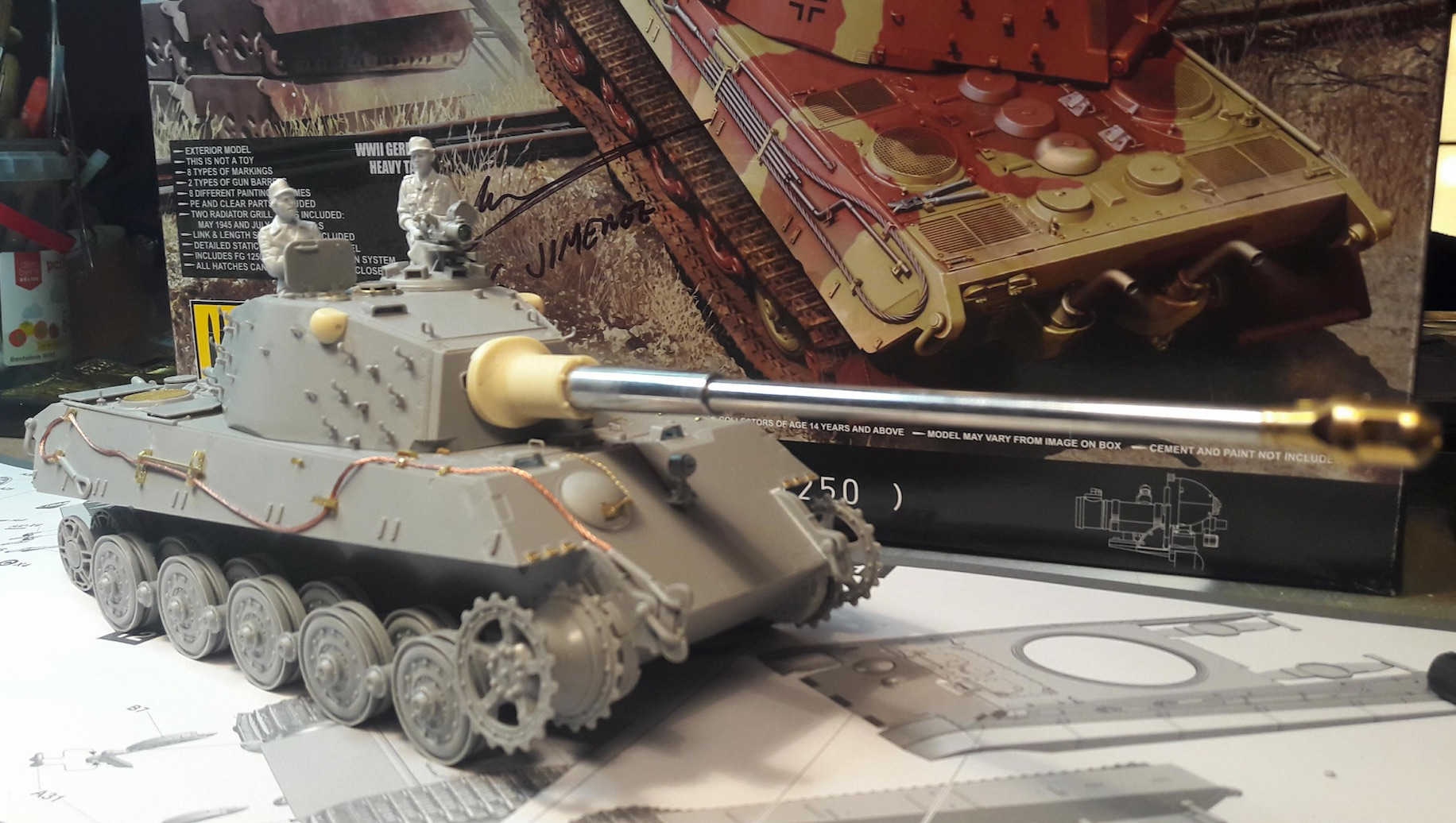 "King Tiger Ammo ""What If"" 819374Build2"